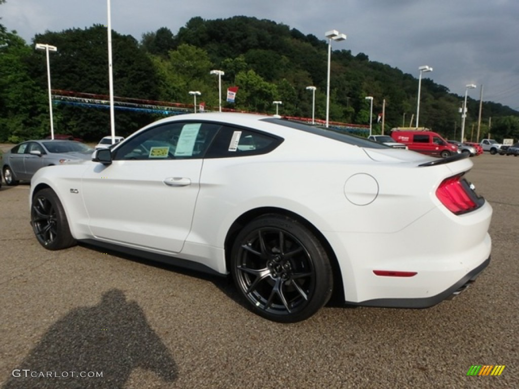 2019 Mustang GT Premium Fastback - Oxford White / Ebony photo #4
