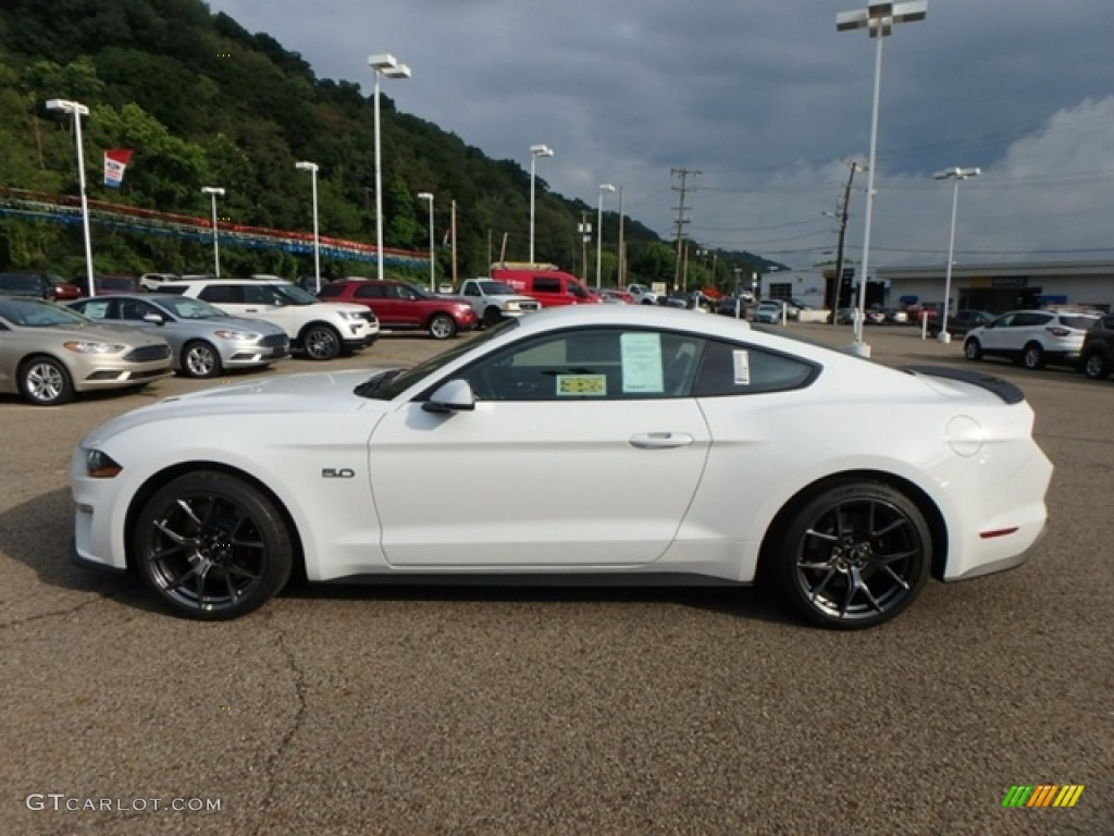 2019 Mustang GT Premium Fastback - Oxford White / Ebony photo #5