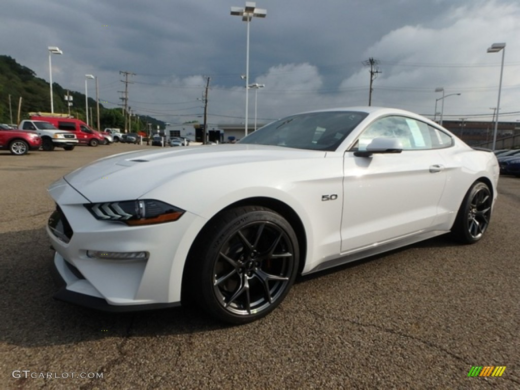 2019 Mustang GT Premium Fastback - Oxford White / Ebony photo #6