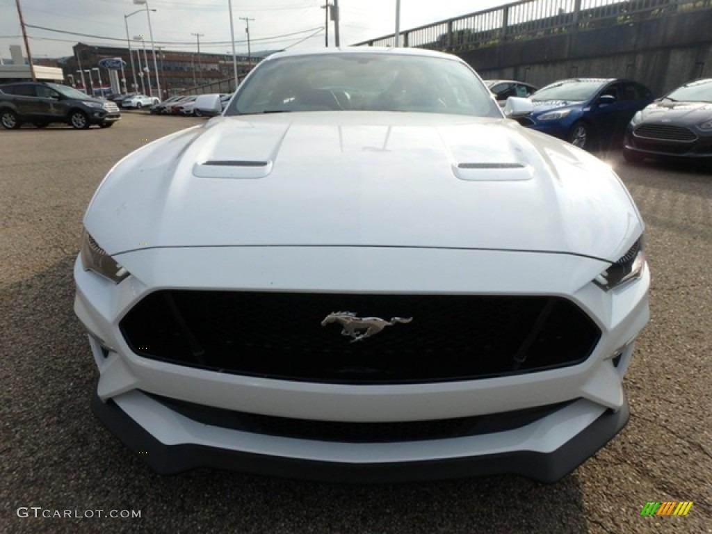 2019 Mustang GT Premium Fastback - Oxford White / Ebony photo #7