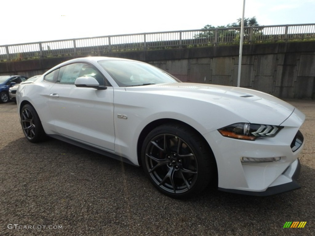 2019 Mustang GT Premium Fastback - Oxford White / Ebony photo #9