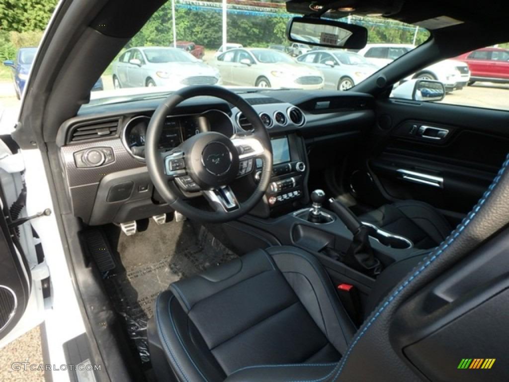 2019 Mustang GT Premium Fastback - Oxford White / Ebony photo #13