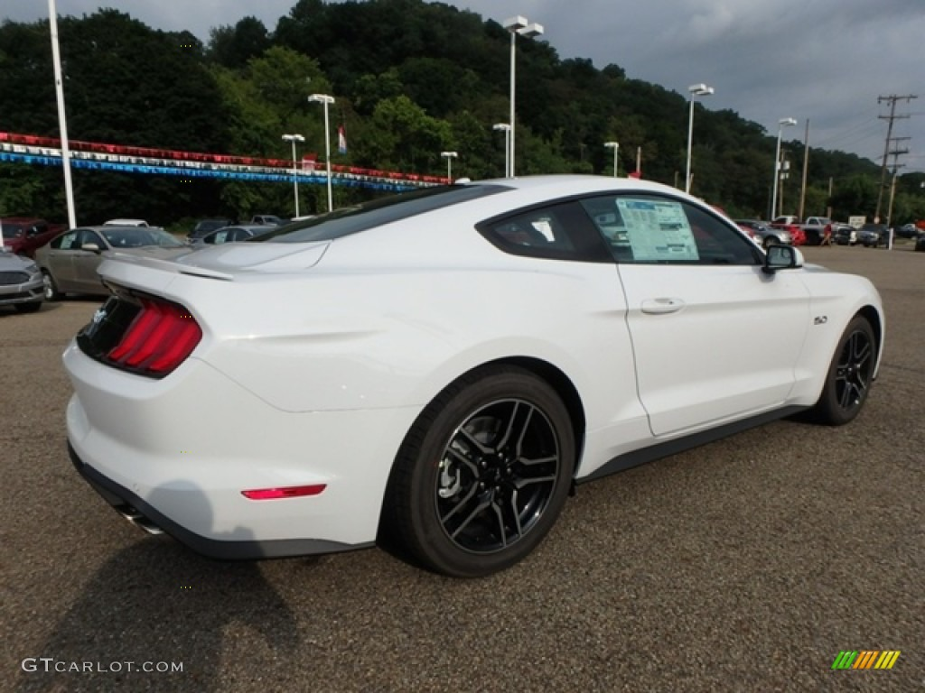 2019 Mustang GT Fastback - Oxford White / Ebony photo #2