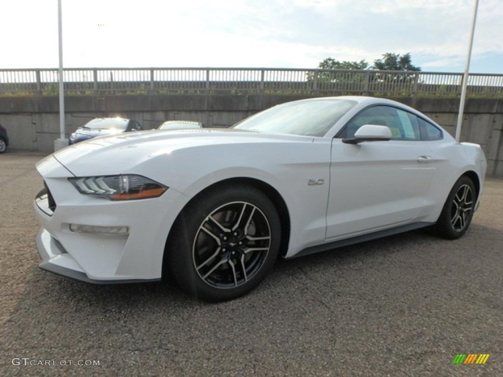 2019 Mustang GT Fastback - Oxford White / Ebony photo #6