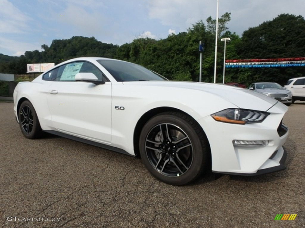 2019 Mustang GT Fastback - Oxford White / Ebony photo #9