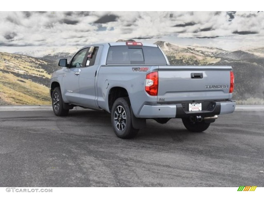 2019 Tundra Limited Double Cab 4x4 - Cement / Black photo #3