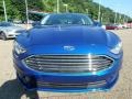 2018 Lightning Blue Ford Fusion SE  photo #7