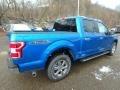 2019 Velocity Blue Ford F150 XLT Sport SuperCrew 4x4  photo #2