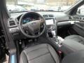Medium Black Interior Photo for 2019 Ford Explorer #131352371