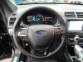 Medium Black Steering Wheel Photo for 2019 Ford Explorer #131352422