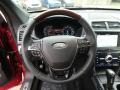 Ebony Black Steering Wheel Photo for 2018 Ford Explorer #131358755