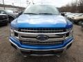 2019 Velocity Blue Ford F150 XLT SuperCrew 4x4  photo #7