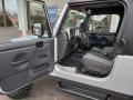 2006 Bright Silver Metallic Jeep Wrangler Unlimited 4x4  photo #3