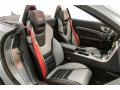 2018 SLC 43 AMG Roadster Black/Silver Pearl w/Red Piping Interior