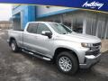 2019 Silver Ice Metallic Chevrolet Silverado 1500 LT Double Cab 4WD  photo #1