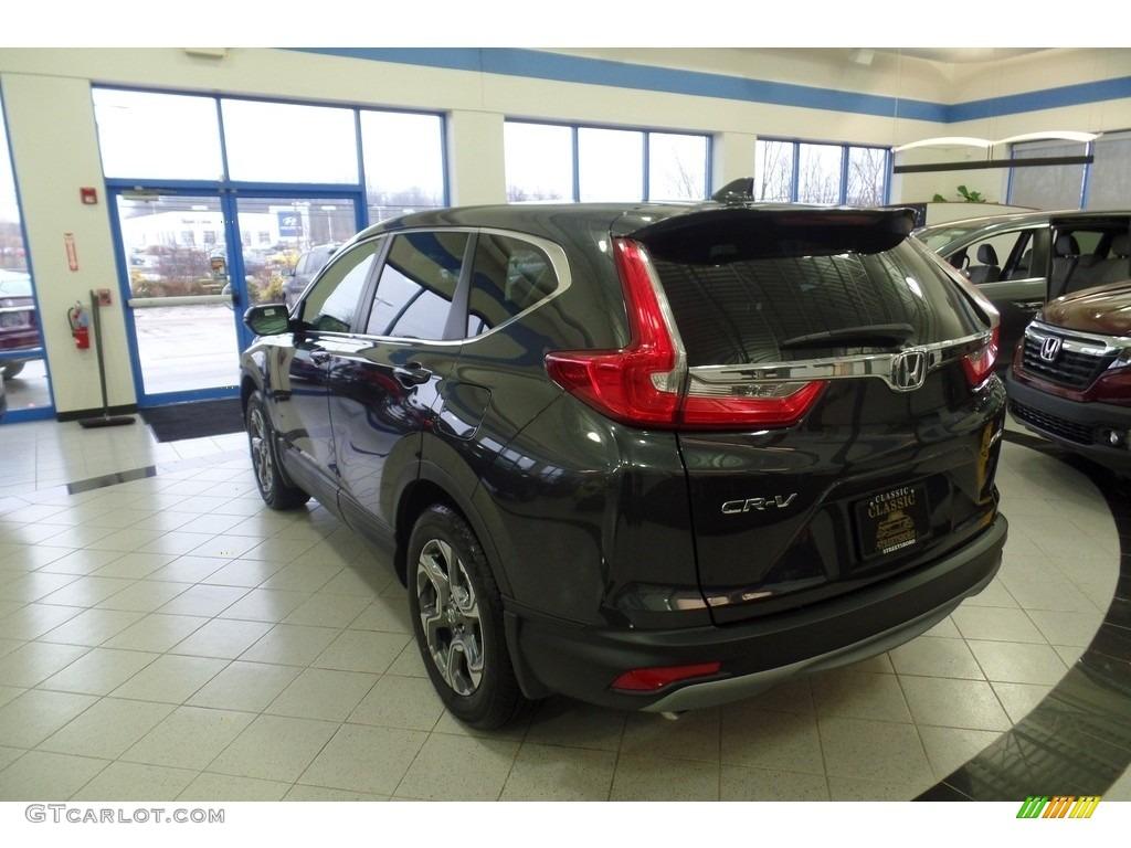 2019 CR-V EX AWD - Gunmetal Metallic / Gray photo #2