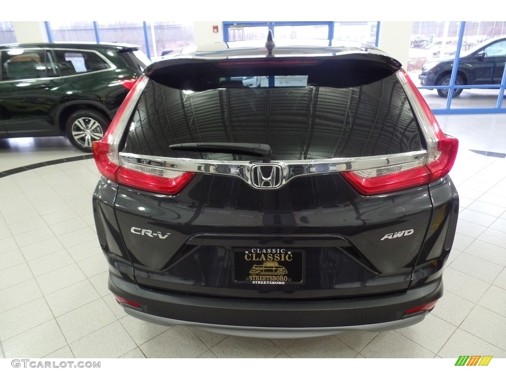 2019 CR-V EX AWD - Gunmetal Metallic / Gray photo #4