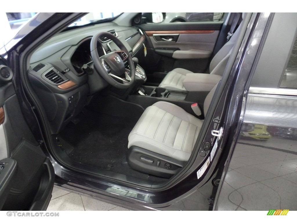 2019 CR-V EX AWD - Gunmetal Metallic / Gray photo #5