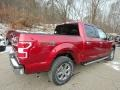 2019 Ruby Red Ford F150 XLT SuperCrew 4x4  photo #2