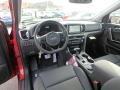 2019 Sportage SX Turbo AWD Black Interior