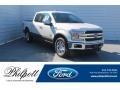 White Platinum 2019 Ford F150 King Ranch SuperCrew