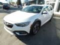 White Frost Tricoat 2018 Buick Regal TourX Essence AWD