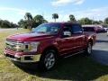 2019 Ruby Red Ford F150 XLT SuperCrew  photo #1