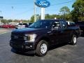 Magma Red 2019 Ford F150 XL SuperCab