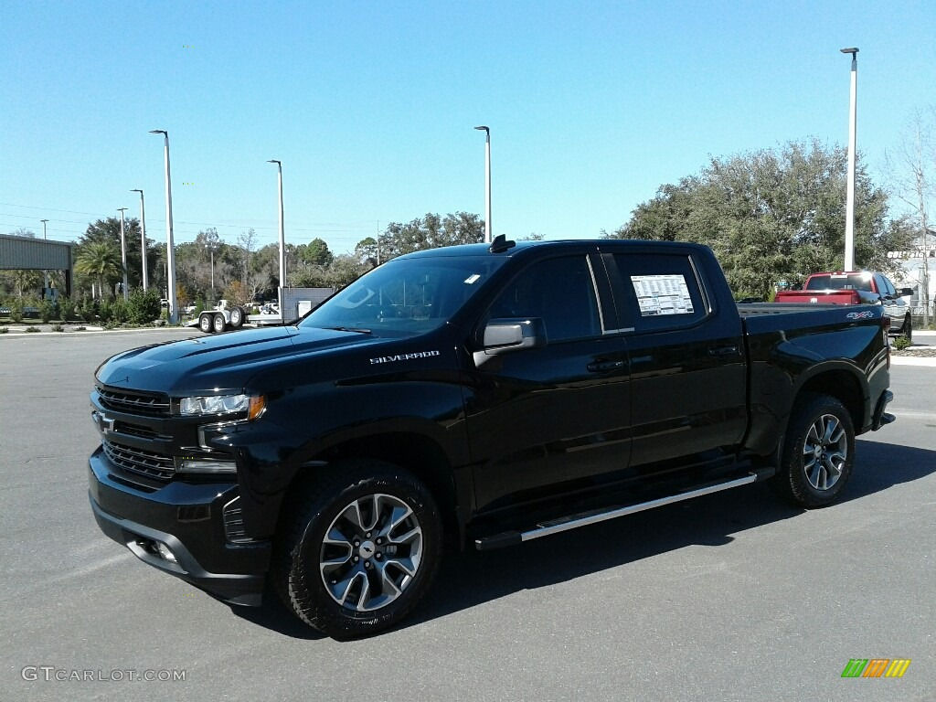 2019 Silverado 1500 RST Crew Cab 4WD - Black / Jet Black photo #1