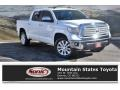 2014 Super White Toyota Tundra Limited Crewmax 4x4  photo #1