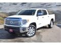 2014 Super White Toyota Tundra Limited Crewmax 4x4  photo #5