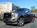 2019 Magnetic Ford F150 STX SuperCab 4x4  photo #1