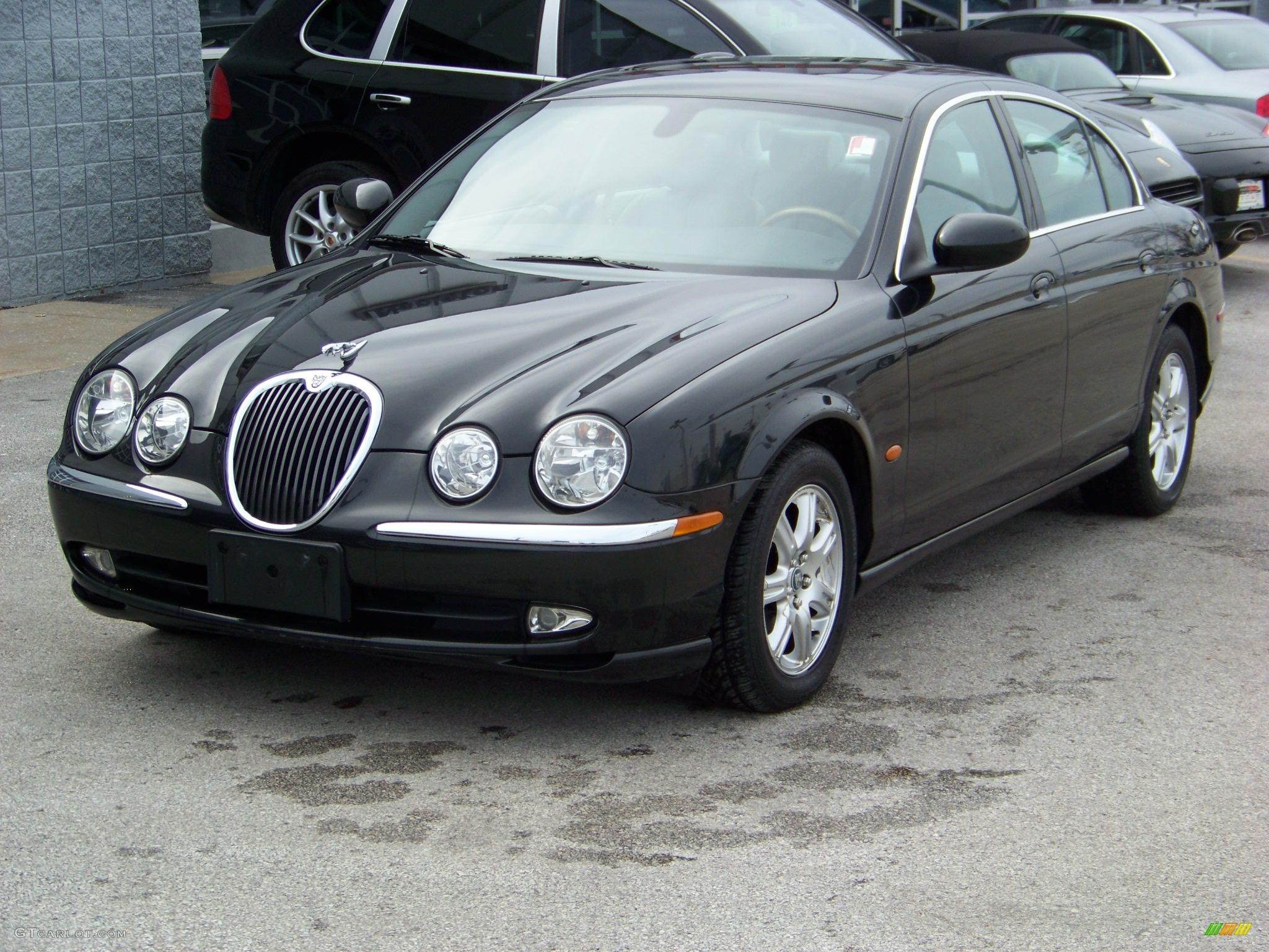 2003 black jaguar s type 3 0 130978 car. Black Bedroom Furniture Sets. Home Design Ideas