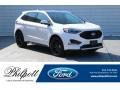 White Platinum 2019 Ford Edge ST AWD