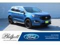 Ford Performance Blue 2019 Ford Edge ST AWD