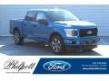 Velocity Blue - F150 STX SuperCrew Photo No. 1