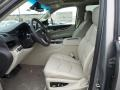 2019 Cadillac Escalade Shale/Jet Black Accents Interior Front Seat Photo