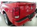 2012 Flame Red Dodge Ram 1500 Express Crew Cab 4x4  photo #9