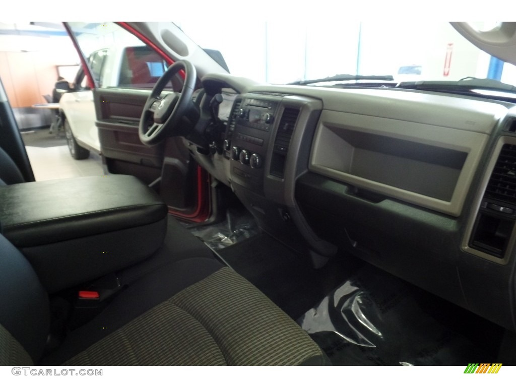 2012 Ram 1500 Express Crew Cab 4x4 - Flame Red / Dark Slate Gray/Medium Graystone photo #20