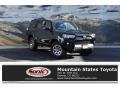 Midnight Black metallic 2019 Toyota 4Runner SR5 4x4