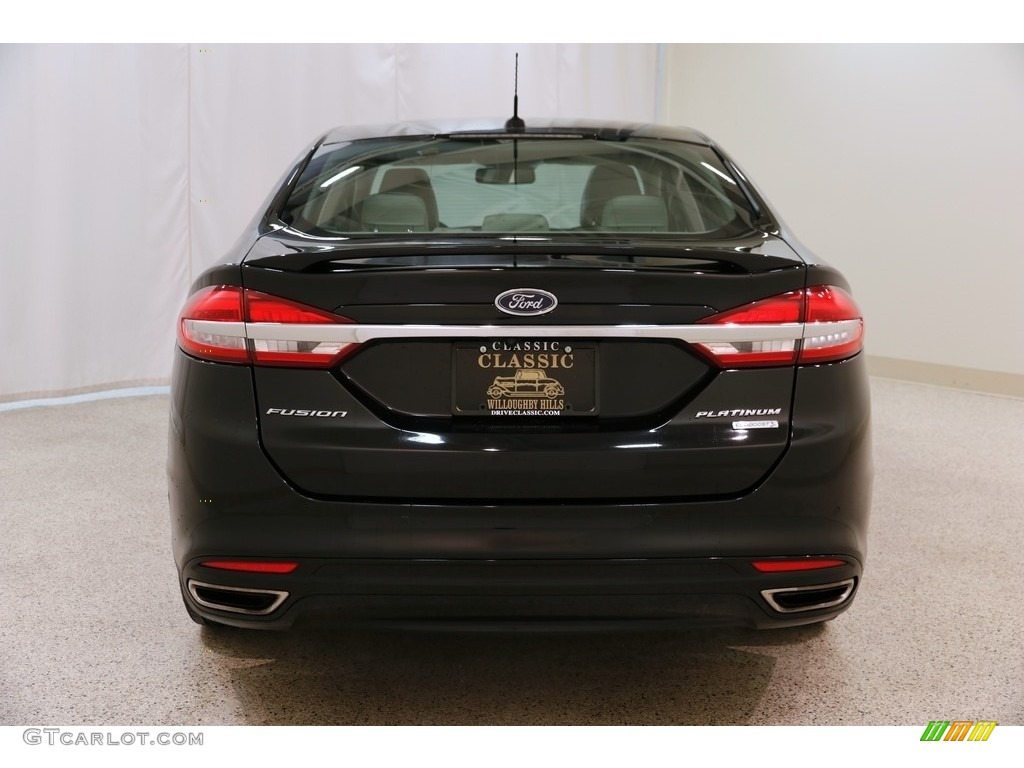 2017 Fusion Platinum - Shadow Black / Medium Soft Ceramic photo #22