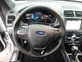 2019 Ford Explorer Medium Black Interior Steering Wheel Photo