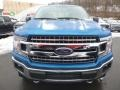 2019 Velocity Blue Ford F150 XLT SuperCab 4x4  photo #4
