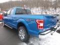 2019 Velocity Blue Ford F150 XLT SuperCab 4x4  photo #6