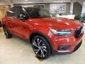 Fusion Red Metallic 2019 Volvo XC40 T5 R-Design AWD
