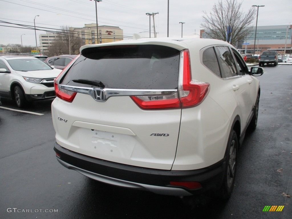 2017 CR-V EX AWD - White Diamond Pearl / Black photo #5