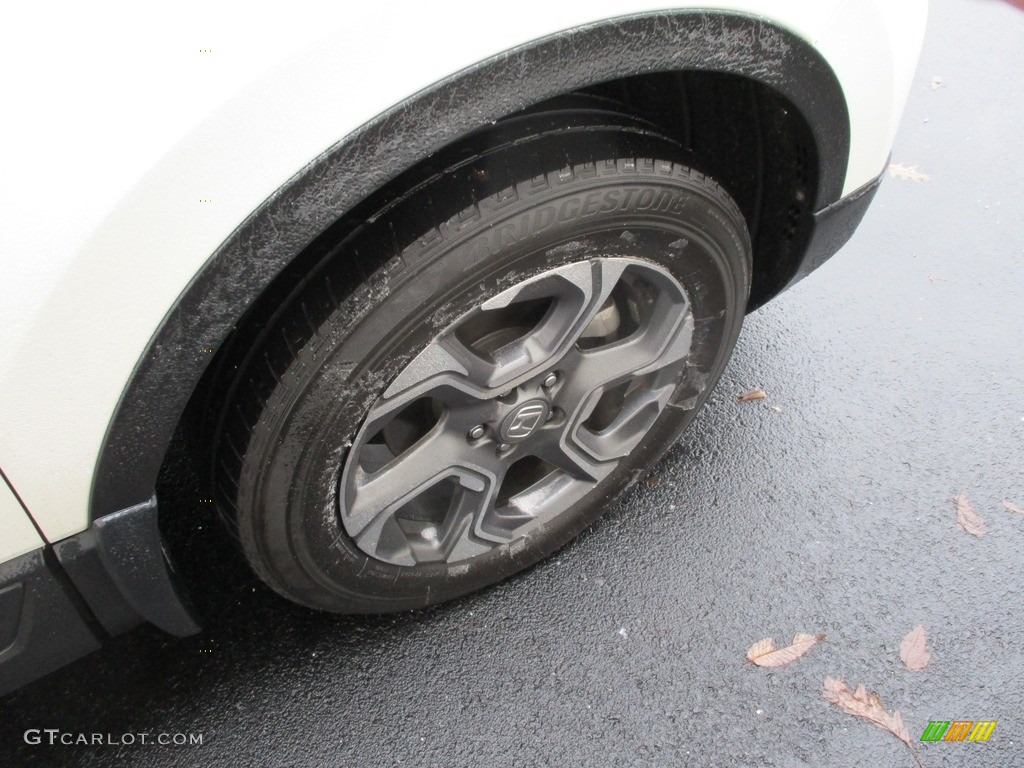 2017 CR-V EX AWD - White Diamond Pearl / Black photo #7