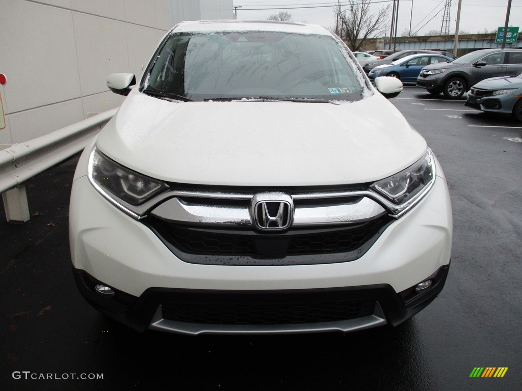 2017 CR-V EX AWD - White Diamond Pearl / Black photo #9