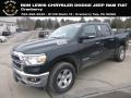 2019 Black Forest Green Pearl Ram 1500 Big Horn Crew Cab 4x4 #131488142
