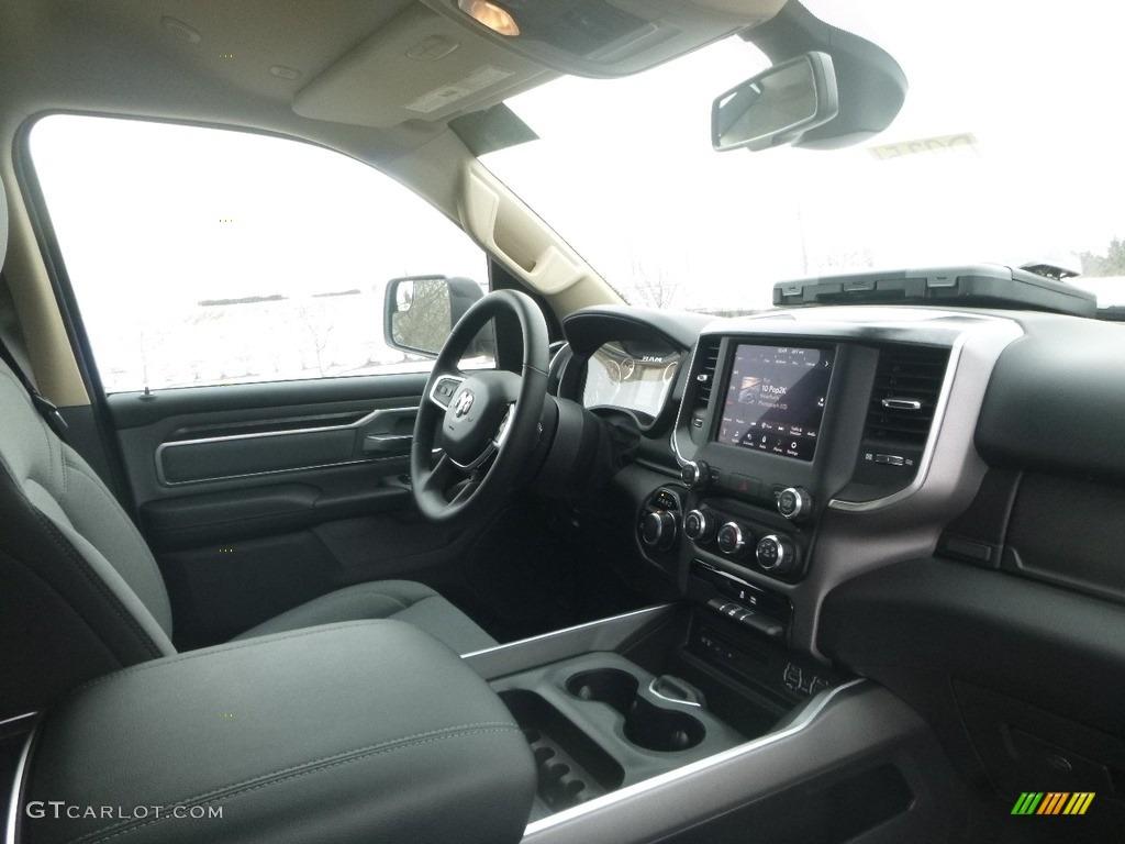 2019 1500 Big Horn Crew Cab 4x4 - Black Forest Green Pearl / Black/Diesel Gray photo #11